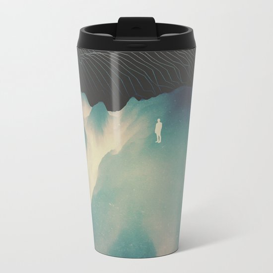 Falling Metal Travel Mug
