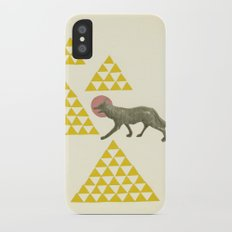 Mountain Wolf iPhone X Slim Case
