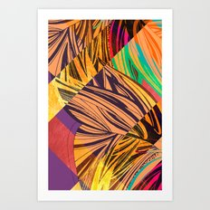 Mad Butterfly Art Print