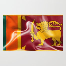Sri Lanka Flag Rug