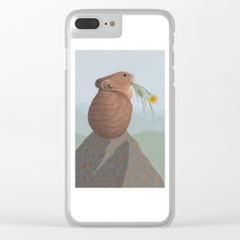 American Pika Clear iPhone Case