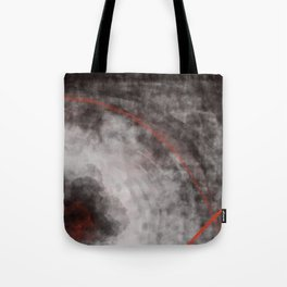 I should have read between the lines- abstract expressive art Tote Bag