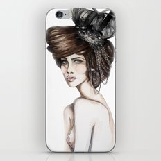 Queen of Diamonds // Fashion Illustration iPhone & iPod Skin