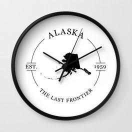 Alaska - The Last Frontier Wall Clock