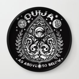 PLANCHETTE T-shirt Wall Clock