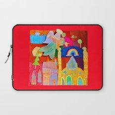 Rainbow Angel Laptop Sleeve