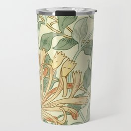 "William Morris ""Honeysuckle"" 3. Travel Mug"