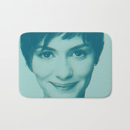 She smiles Bath Mat