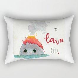 Volcano Love Rectangular Pillow