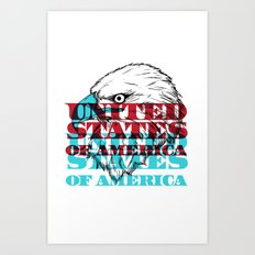 My United States Art Print