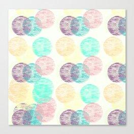 Cosy Circles || 2 Canvas Print