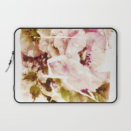 slashed floral Laptop Sleeve