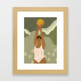 I Have The Sun Framed Art Print