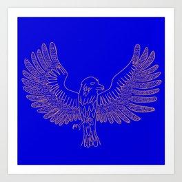 Ravenclaw Print Art Print