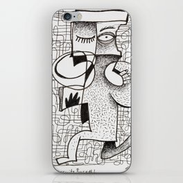 All Circuits Busy #1 iPhone Skin