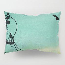 Bird City Revisited Pillow Sham