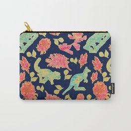 Australian Native Floral and Fauna Print Carry-All Pouch