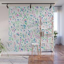 Confetti Splatter Pattern Wall Mural