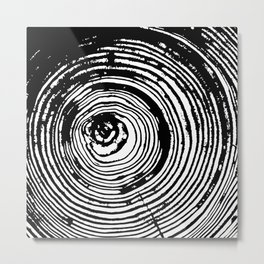 Tree Rings 2 Metal Print