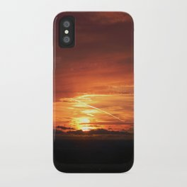 SETTING SUN II iPhone Case