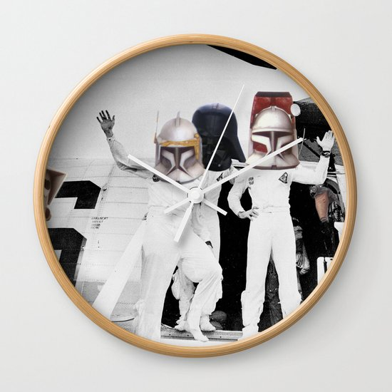 The Return of the SpaceCowboys / Teletubbies Wall Clock