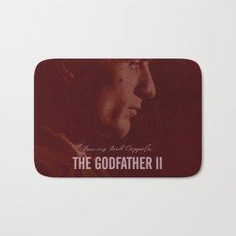 The Godfather Part II, Robert De Niro, Al Pacino, American movie poster Bath Mat