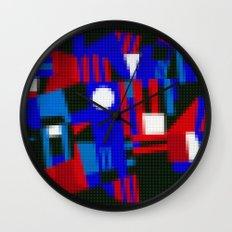 Lego: Abstract Wall Clock