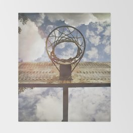 Hoosier Basketball Throw Blanket