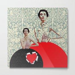 Peephole Valentine Metal Print