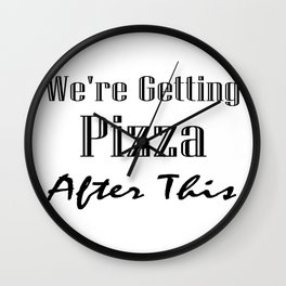 Funny Workout For Women Men Wall Clock
