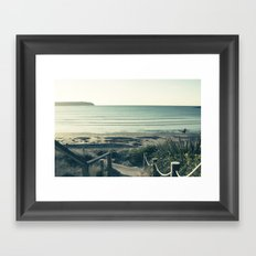 What You Do Next Framed Art Print