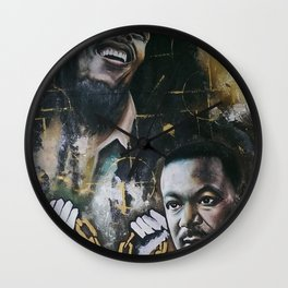 No racism but one Love Wall Clock