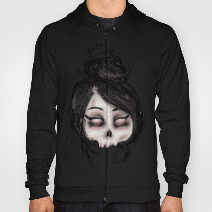 The inability to perceive with eyes notebook II Hoody