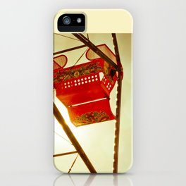 Red Ferris Wheel iPhone Case