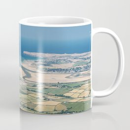 Aerial Views over North Cornwall - Padstow and Rock Coffee Mug