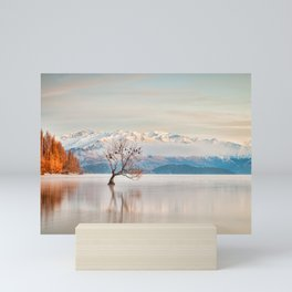 Lake Wanaka, Otago, New Zealand Mini Art Print