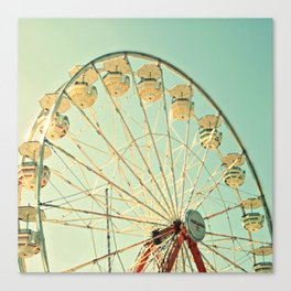 Ferris Wheel Magic Canvas Print