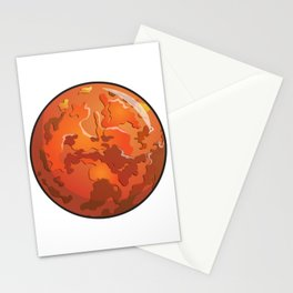 Mars Icon Stationery Cards