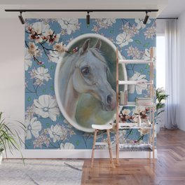 Spring Horse Wall Mural