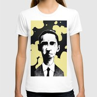 lovecraft T-shirts featuring H.P. Lovecraft by James Courtney-Prior