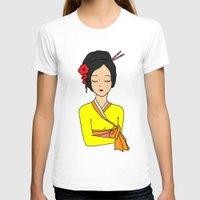 korean T-shirts featuring Korean Maiden by RaJess