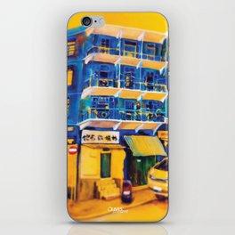 blue house (hong kong) iPhone Skin