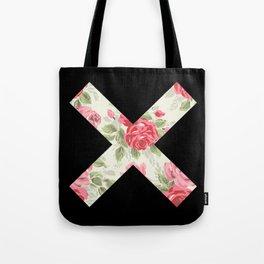 X Floral   X Tote Bag