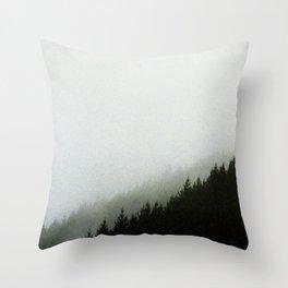 Moonshine Valley Mist Throw Pillow