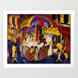 Ices by Jacob Lawrence African American Masterpiece Art Print