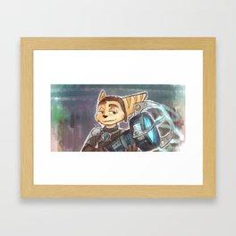 Plasma Cannon Framed Art Print
