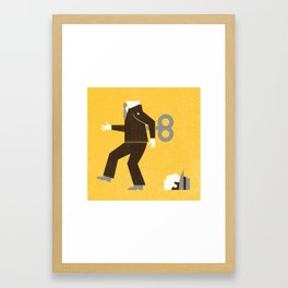 Keep Your Head - Part Two Framed Art Print