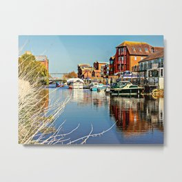 At the riverside. Metal Print