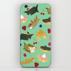 Shark Loafs - Green iPhone & iPod Skin