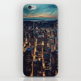 Skyscrapes-City View iPhone Skin